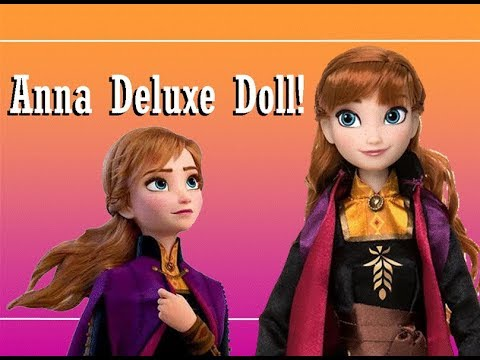 Frozen 2 Disney Store Anna Deluxe Doll Review!