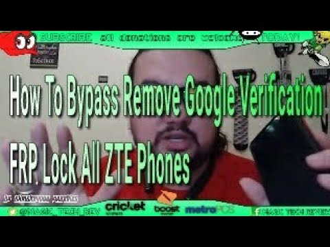 How To Bypass Remove Google Verification FRP Lock All ZTE Phones ZTE Blade  Z Max ZTE Zmax Pro 100%