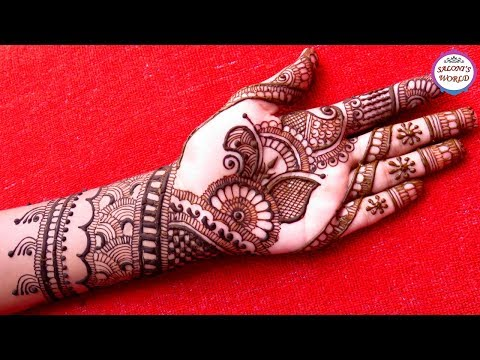 Beautiful Indian Mehndi Designs For Karva Chauth 2017|Arabic Henna| Bridal Mehndi by Jyoti Sachdeva.