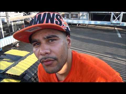 Miguel Gonzalez post fight interview