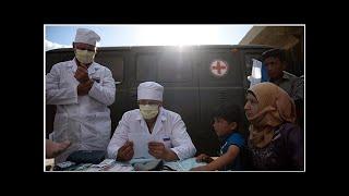 Российские военные врачи оказали помощь 275 сирийцам