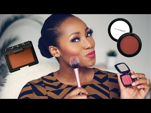 5 MUST HAVE BLUSHES FOR BLACK WOMEN/ DARK SKIN / WOMEN OF CO