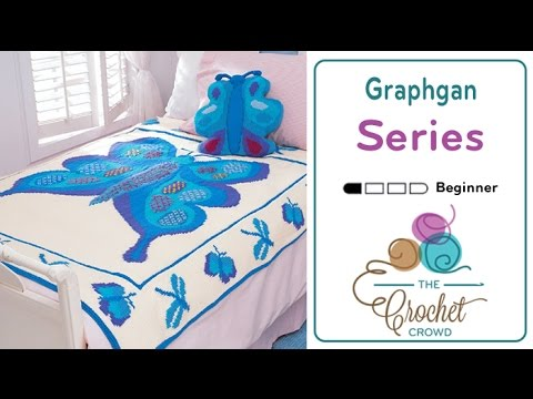 How to Crochet Graphghans: Change Color Techniques Left Handed