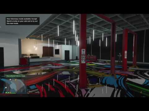 GTA V Online Executive Office Custom Auto Shop Designs