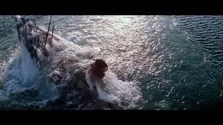 """Кадры из фильма """"Поднять Титаник"""". Снят до обнаружения реального Титаника."""