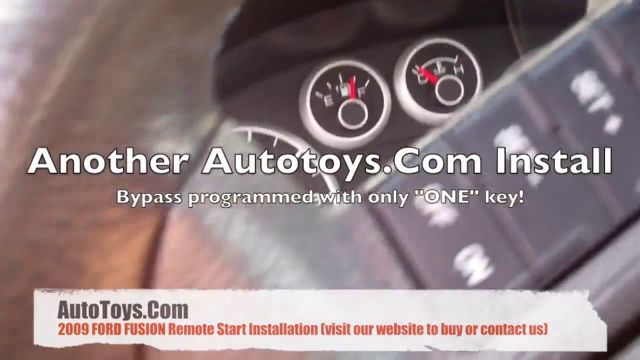 Ford Fusion Remote Start Intallation With Avital And Idatalink Youtube 4111 Wiring Diagram