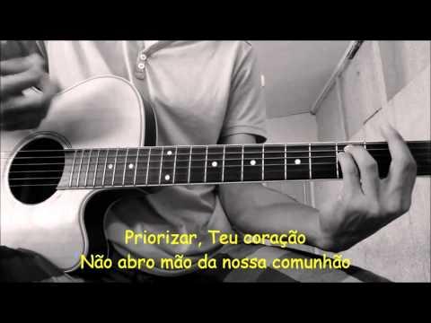 Sua voz, meu Violão. Deus Acima de Tudo - Geraldo Guimarães. (Karaokê Violão)
