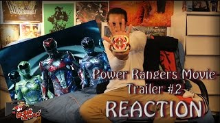 Power Rangers 2017 Trailer 2 REACTION!! | Thoughts + Predictions!