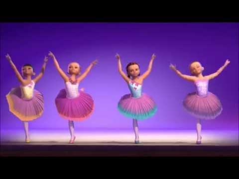 Barbie In The Pink Shoes-Dancing Scene 7(Hannah,Casey,Gabrielle dance)