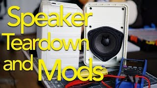 Garage Stereo Project: Speaker Teardown and Mod!