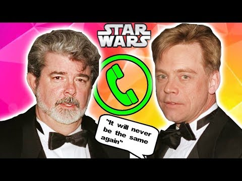 Mark Hamill and George Lucas Secretly Talk about Episode 8! (NO REVEAL)