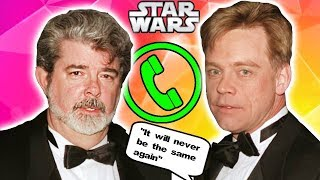 Mark Hamill and George Lucas Secretly Talk about Episode 8! (NO REVEAL) - Star Wars News Explained