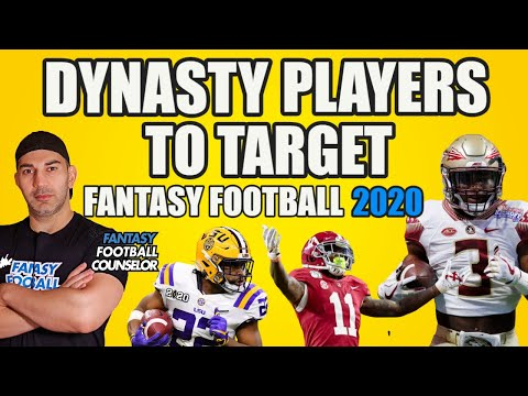 Dynasty Rookie Players To Target - Fantasy Football 2020