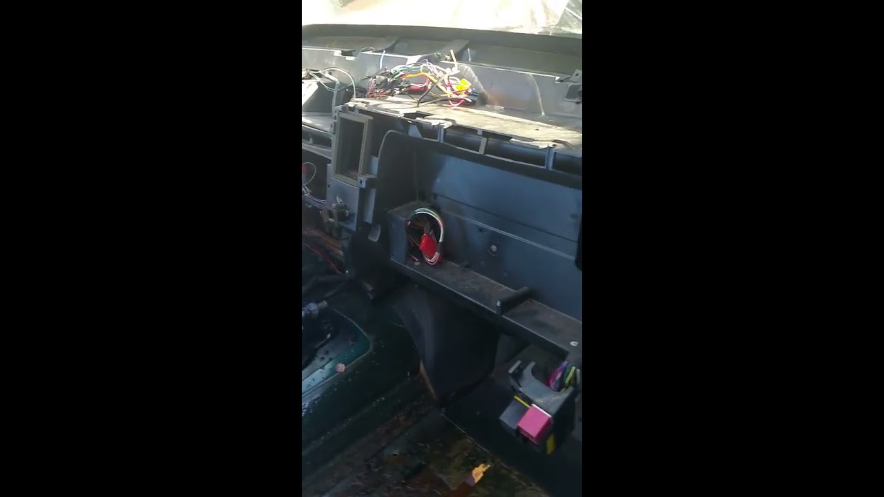 Zj 1998 Mode Door Actuator Not Blend Door Youtube