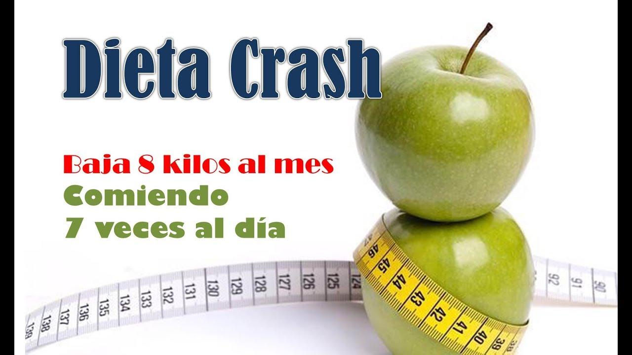 Reto de la DIETA CRASH por 30 días ♥ - YouTube