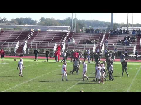 Elkhart Memorial High School Football vs Wawasee 10-10-15