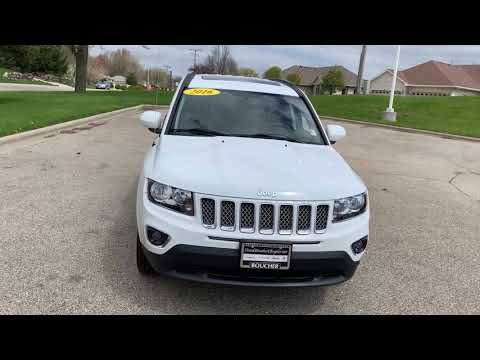 2016 Jeep Compass Stock# 19JL329A Frank Boucher Chrysler Dodge Jeep Ram in Janesville,WI