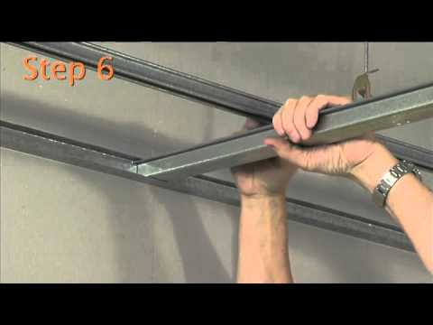 How To Install The Rondo Key Lock Suspended Ceiling System