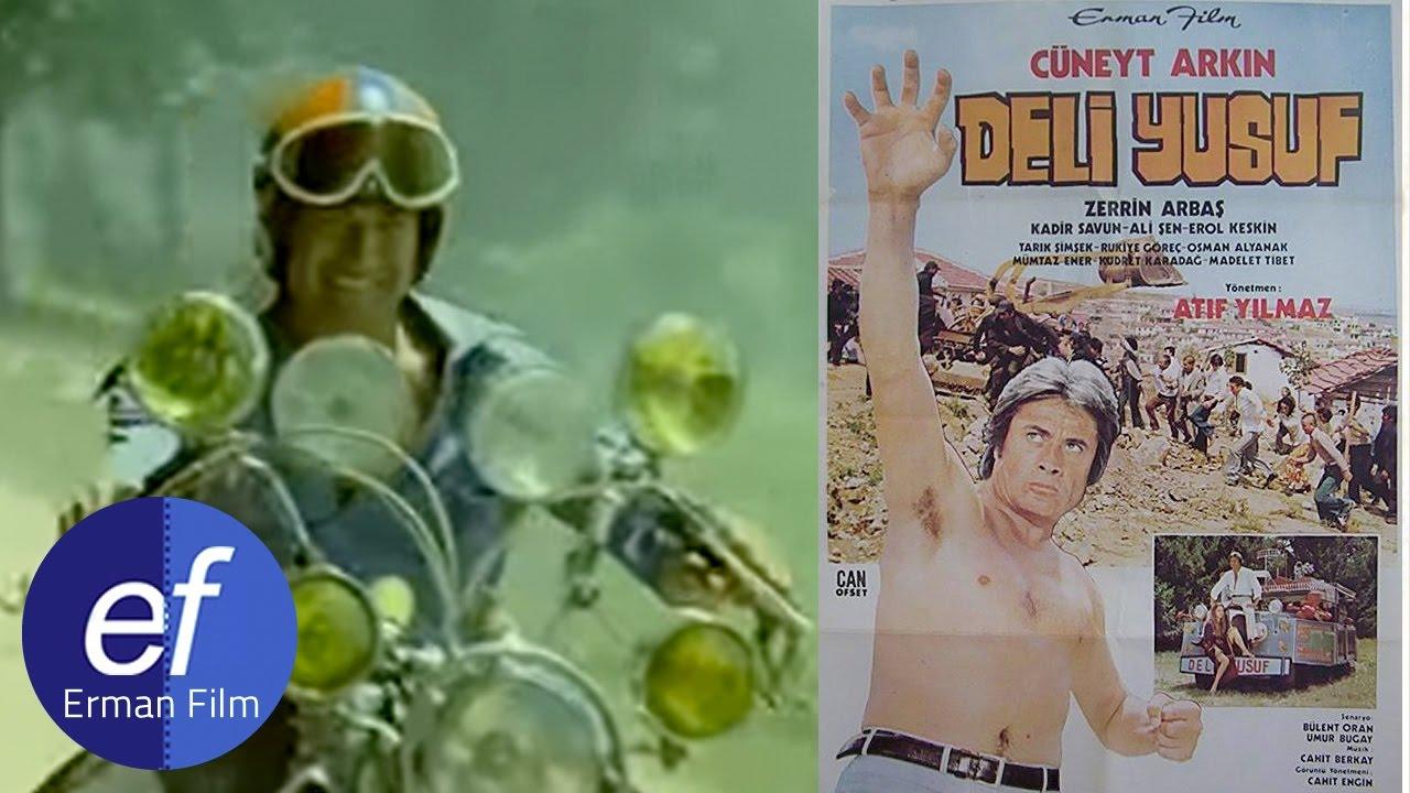 Deli Yusuf (1975) - Araba Motor Yarışı - YouTube
