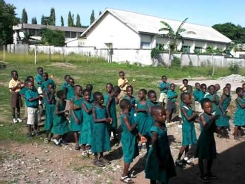 Ghana, West African Elementary School
