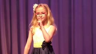 Уроки вокала для детей. СПб. Фиксики. Алиса Смородина. 7 лет.