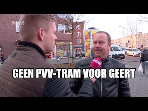 Geen PVV-tram voor Geert