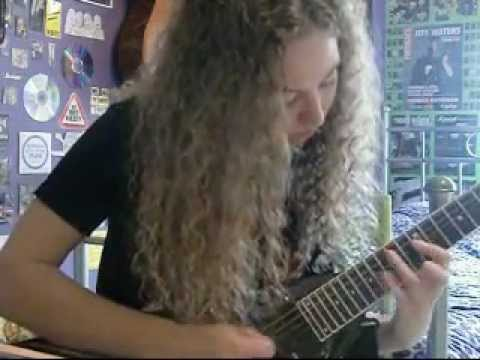 Megadeth - My Last Words Solo Cover