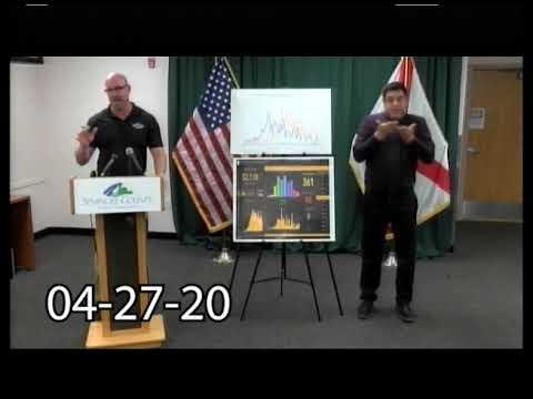 Seminole County Pres Conference COVID-19 Update 4-27-2020