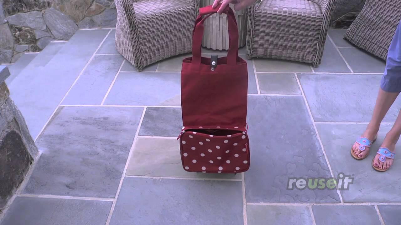 reisenthel reusable foldable trolley sku 500731. Black Bedroom Furniture Sets. Home Design Ideas