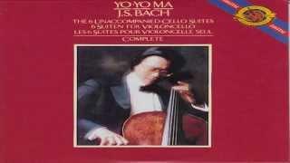 Bach: The six unaccompanied cello suites, Disc 1 | Yo-yo ma