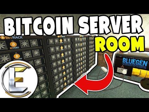 Bitcoin Server Room - GMOD DarkRP (Overclocking CPUs To 7GHz For Maximum Profits)