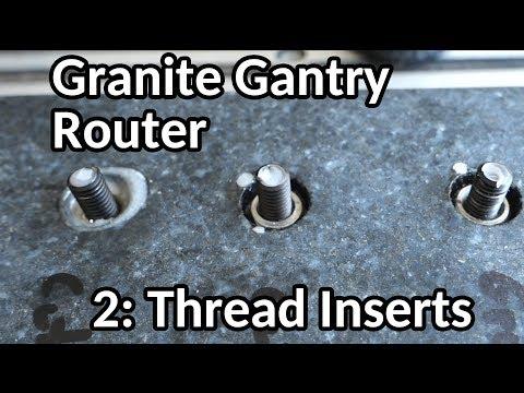 Granite Gantry Router build, part 2