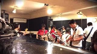 上野公園からスタジオに移動してのバンドセッション♪ 勝手に顔出し動画...