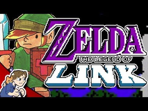 IT'S LARNK! │ Zelda: Legend of Link #1 │ ProJared Plays!
