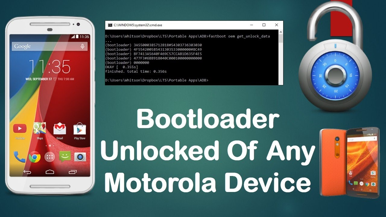 How to unlock bootloader of any motorola