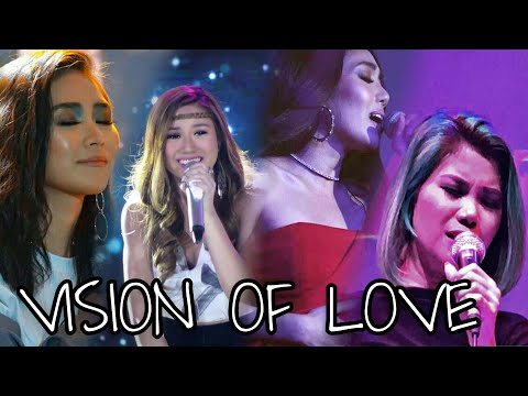 Filipino Singers Attempting VISION OF LOVE by Mariah Carey