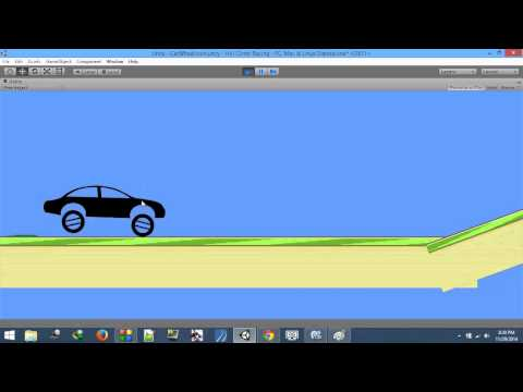 Hill Climb Racing Like 2D Car Physics - Unity