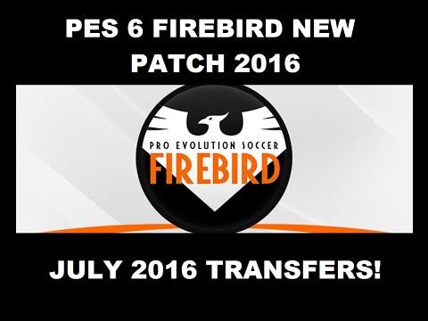 الباتش الخرافي FIREBIRD Patch 2017 لبيس 6 + kitserver 2017 pes6
