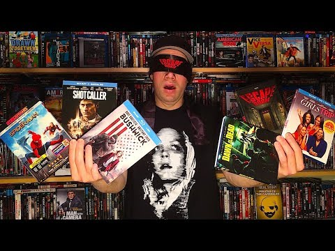 My Blu-ray Collection Update 10/14/17 : Blu ray and Dvd Movie Reviews