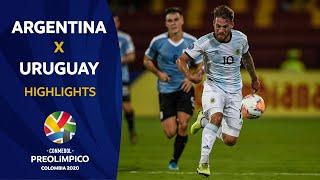 Argentina 3-2 Uruguay l Preolímpico 2020