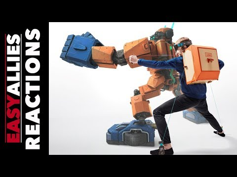 Nintendo Labo Announcement - Easy Allies Reactions