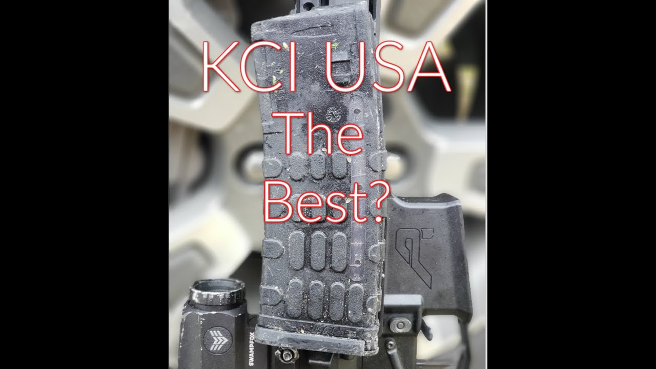 KCI USA AR 15 Polymer Magazine Review: Best Cheap Practice Mags?