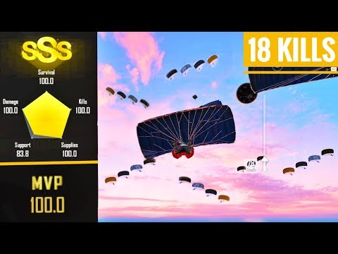 Using My Tips and Tricks in Classic Matches  | 18 KILLS | Pubg mobile