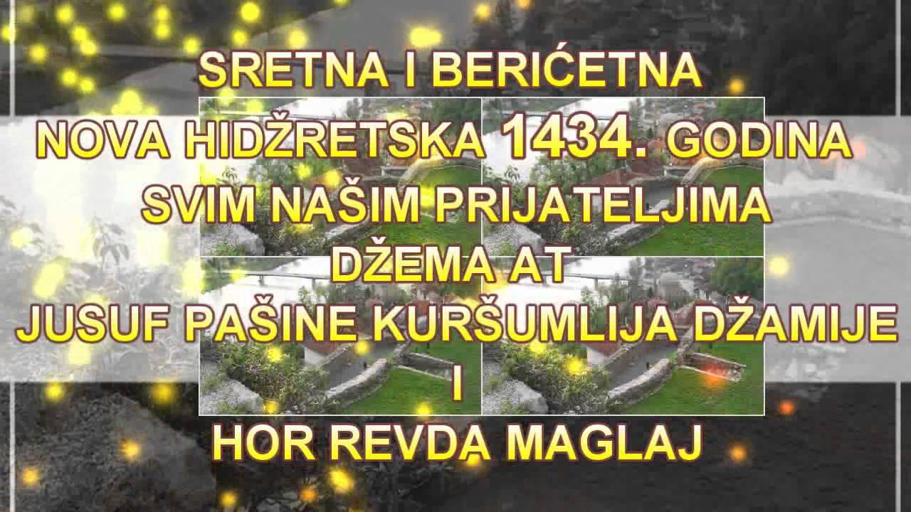 lijepe čestitke za novu godinu Dragim našim prijataljima za Novu Hidžretsku 1434. godinu   YouTube lijepe čestitke za novu godinu