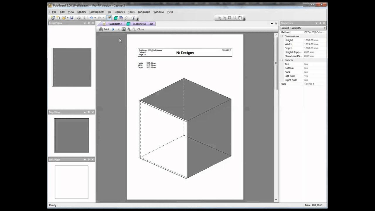 Using Materials Libraries for furniture design in Polyboard - YouTube