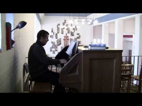 I Want To Walk With Jesus Christ - All Saint's Church, Intake, Doncaster (Compton Organ)