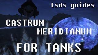 ffxiv heavensward updated castrum meridianum tank guide