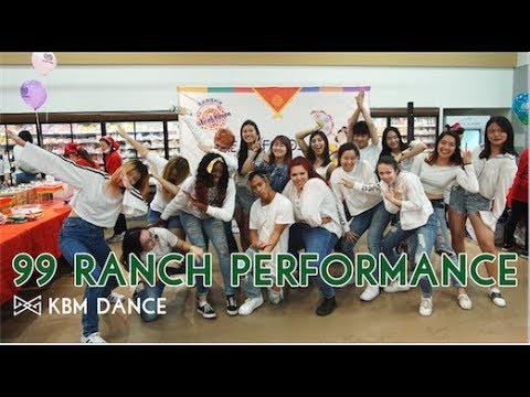 [PERFORMANCE] KBM Dance | Oct. 21, 2017 99 Ranch Performance (Red Flavor/Hola Hola/DNA)