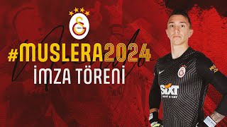 📺 Fernando Muslera sözleşme yenileme imza töreni