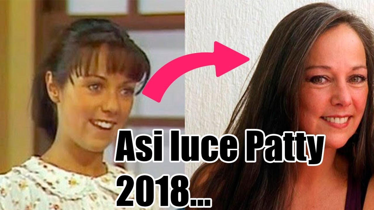 """Ana Lilian De La Macorra ana lilian de la macorra """"""""paty en el chavo del 8"""" mira el cambio físico  2018!"""